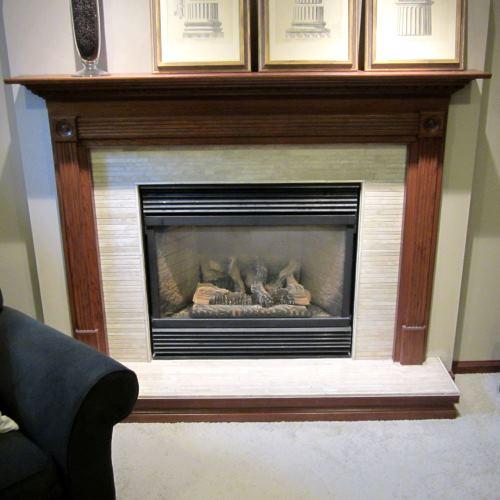 Limestone Fireplace Repair Fireplaces